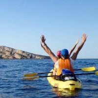 Benidorm, las mejores fotos en kayak 2016